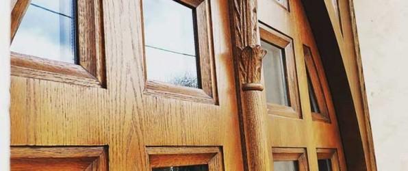Ξυλόγλυπτη πόρτα Αγίου Στυλιανού του Παφλαγόνος